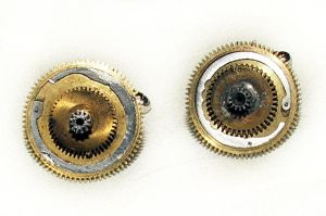 Steampunk Gear Cufflinks by Aethergoggles