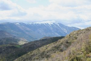 snowy mountins provence 3 by ingeline-art
