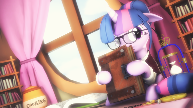 Read me a book please! by SelestLight