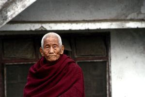 Portrait of a monk by bingbing51