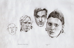 Famous faces by Tabon