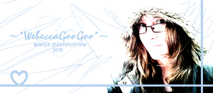 WebeccaGooGoo 2010 WINTER ID by WhatTheFoxBecca