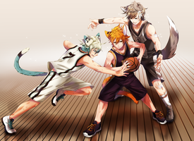 Basketball Boys by chisachan2010