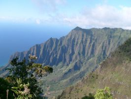 Kalalau Lookout by MuggleHater