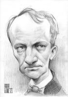 Charles Baudelaire by Parpa