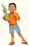 Pineapple kid by starsweep
