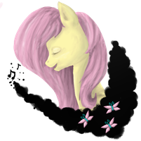 Fluttershy by KittyIsAWolf
