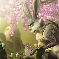 Easter Bunnies by gating