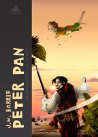 Fully Illustrated Peter Pan Cover by CarlPearce