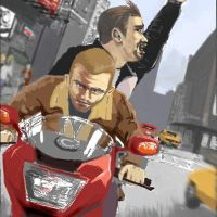 GTA 4 LITTLE ART by phoonaru