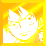 Luffy [I'M GOING TO BE THE PIRATE KING] icon by moondramon