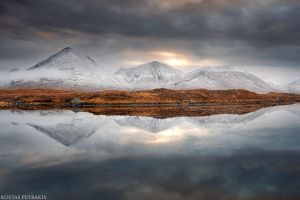 Sligachan Sunrise by pestilence