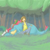 Dormiremos en el bosque by mudkip-chan