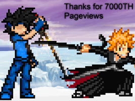 Thanks for the 7000th Pageview by LSWKiller