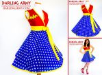 Wonder Woman Vintage Inspired Cosplay Wrap Dress by DarlingArmy