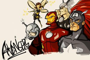 avengers - 2011 group by spoonybards