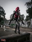 Demon Hunter Cosplay - Prowling the Cemetery 3 by bgzstudios