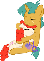 OTP Theme 2 - Cuddling by LudiculousPegasus