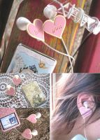Earbud Cap - You Love by paperplane-products