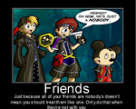 Snafu Motivation: Friends by RisenHellFire