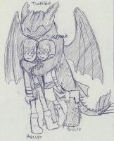 HTTYD- Huggles by sailor663