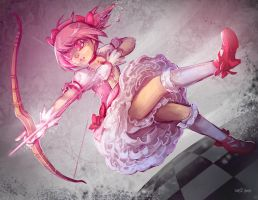 Madoka by frizz-bee