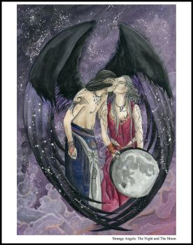 Strange Angels: The Night and the Moon by Tarotshama