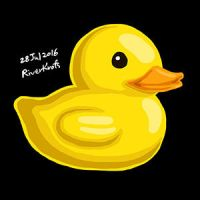 Rubber Duck by RiverKpocc