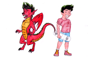 Some More American Dragon by Shaed-Knightwing
