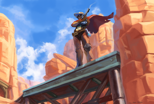 Overwatch: High Noon by rou-tan
