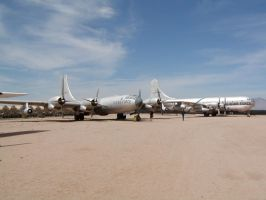 Boeing B50 by mean