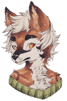 Eric Bust Commission by cattuccino