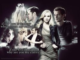 Clarity (Klaus and Caroline) by shesguiltybydesign