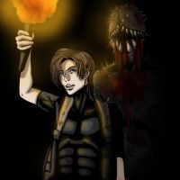 RE4____Iron Maiden by shadowdrafter