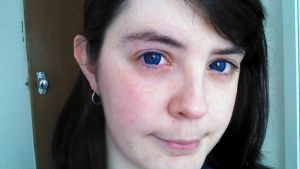 Blue Contacts by MalteseSparrow