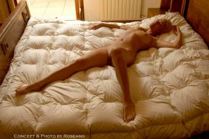 Girl on the Bed n.23 bis by Carnisch