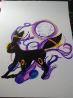 Umbreon Color by HeartBeatArt