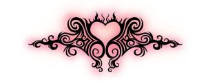 Tribal Heart by vectordiva