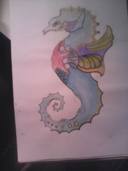 seahorse by leannepixie