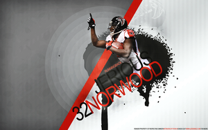Jerious Norwood Wall by GKgfx