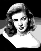 Lauren Bacall - Vectored 6 by musicgal3