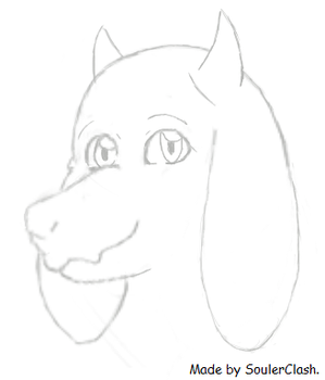 My first Toriel Drawing! by SoulerClash
