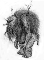 The old troll by Antresoll