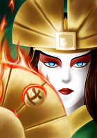Kyoshi's fight by Didules