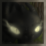 Toothless painting practice by Evertooth
