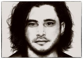 Kit Harington by chocopeanutt