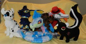 Aywas.com Contest Plushies by Gypmina