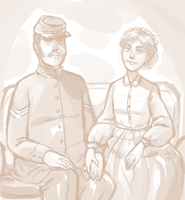 Civil War Portrait by BellaCielo