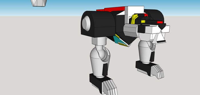 Voltron wip 3 by Lilscotty