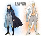 Pokegijinka OC: Fused Kyurems by ky-nim